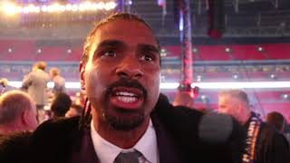 'JOSHUA WOULD HAVE LOST THAT FIGHT - 5 FIGHTS AGO' - DAVID HAYE REACTS TO JOSHUA DESTROYING POVETKIN