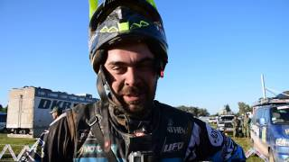 Dakar 2017: interviste all'arrivo, Manuel Lucchese