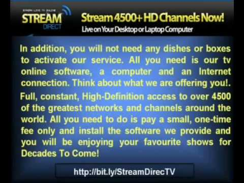 Tv Online Software_Stream Direct TV_Watch TV on Pc