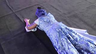 Tope Alabi & Husband Bow Down When Bukola Bekes Sing Praise And Worship Songs To God