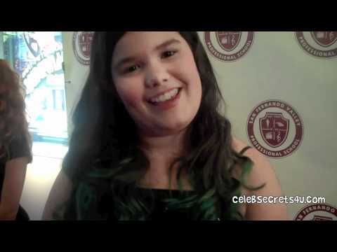 Madison De La Garza Interview- SFVPS LIVE! Concert