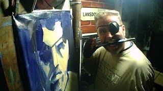 2016 Pirate Painter Portrait #1 Rod Coyne