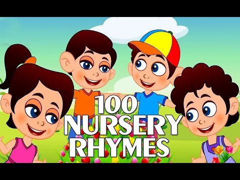 Top 100 Best Rhymes | Nursery Rhymes Collection For Children | Poems For Children video