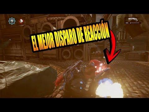 EL MEJOR DISPARO - DISPARAR HACIA ATRÁS (POR LA ESPALDA) ¿Cómo hacerlo? Gears of war 4
