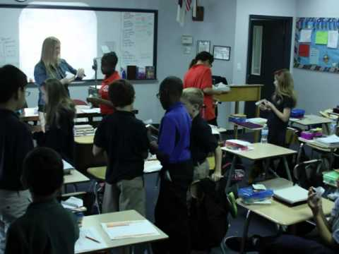 Texas Christian School Vocabulary Lesson