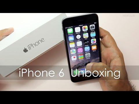 IPhone 6 Unboxing & Quick Setup Retail Indian Unit