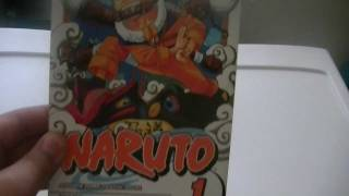 Manga Review: Naruto Volume 1
