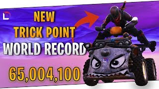Fortnite - New Trick Points World Record - October 2018 | DrLupo
