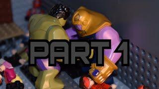 Avengers: Infinity War In LEGO   Comic Style   Part 1   Scenes 1-2