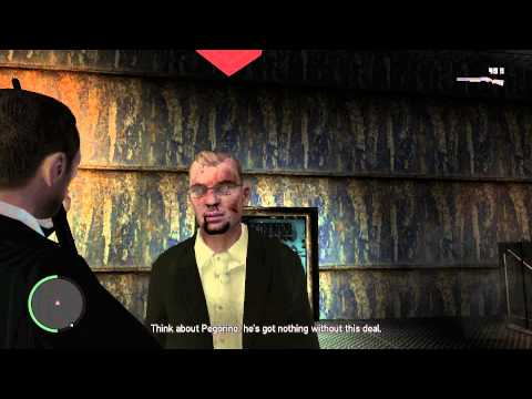 Dimitri begs for his Life (GTA IV)