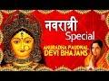 नवरात्री Special I Anuradha Paudwal Devi Bhajans I Durga Chalisa, Mantra, Aarti I