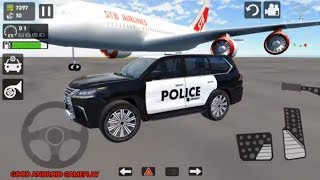 Offroad LX 570 Driving Simulator #1 - Sheriff Police Jeep Android Gameplay FHD