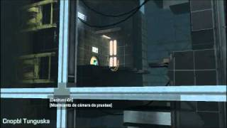 Portal 2 Easter egg P-Body appears in Test Chamber 15 HD