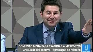 TV Senado ao vivo - MP 881/2019 - 11/07/2019