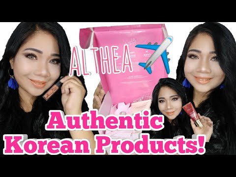 WORTH 10K FREE MAKEUP | ALTHEA KOREA | SMILEYNERIE | PHILIPPINES