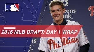Reynolds, O'Dowd and Mayo recap Day 1 of MLB Draft