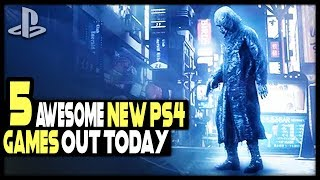 5 AWESOME NEW PS4 GAMES RELEASED TODAY!