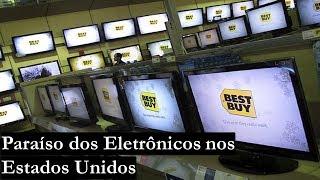 Compras de eletrônicos em Orlando (Best Buy 2018)