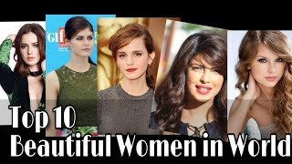 Top 10 Most BEAUTIFUL WOMEN in the World 2018✔