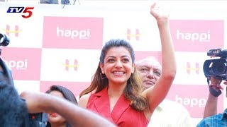 Actress Kajal Aggarwal Launches HAPPI Mobile 27th Store In Hanamkonda, Warangal