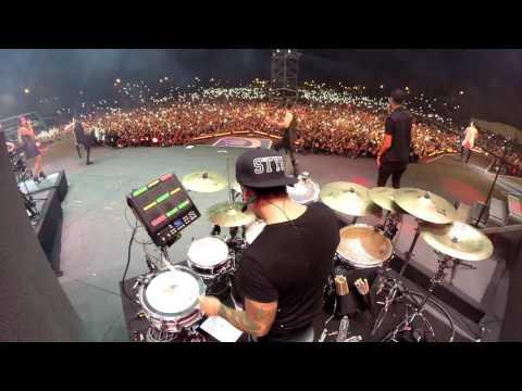 "Shakira feat. Maluma - Chantaje (Live DrumCam) Miguel Ortiz ""Titi"""