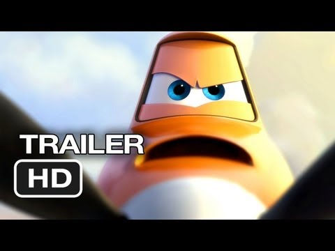 Planes Official Teaser Trailer #1 (2013) – Dane Cook Disney Animated Movie HD