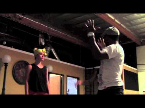**VIDEO**V.ROSE-BATTERY ft FLAME-SNEEK PEEK!! -- EP 1: Choreo!!