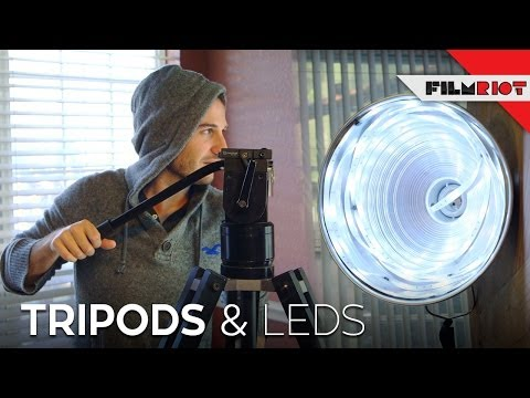 Tripods & LED's!
