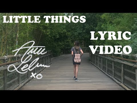 Little Things - Annie LeBlanc | Lyric Video