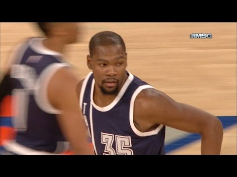 Kevin Durant Taking Knicks Seriously After Derrick Rose Trade