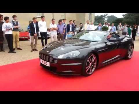 Gumball 3000 Rally Supercar Parade at Salon Privé British Supercar Show 2014