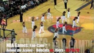 Behind The NBA Scenes: Bobcats vs Sixers 02/13/12 - Charlotte, N.C.