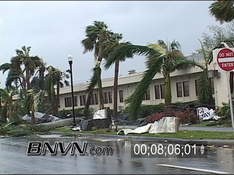 8/13/2004 Hurricane Charley Video Part 7, Punta Gorda Florida aftermath footage