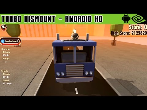 Turbo Dismount - Gameplay Nvidia Shield Tablet Android 1080p (Android Games HD)