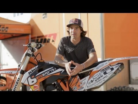 Ronnie Renner talks Erzberg - Red Bull Hare Scramble 2013