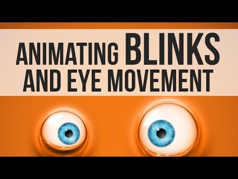 How To Animate Blinks and Eye Movement (3D Animation)