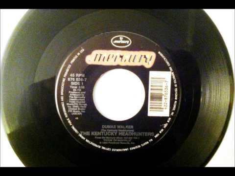 Dumas Walker , The Kentucky Headhunters , 1990 Vinyl 45RPM