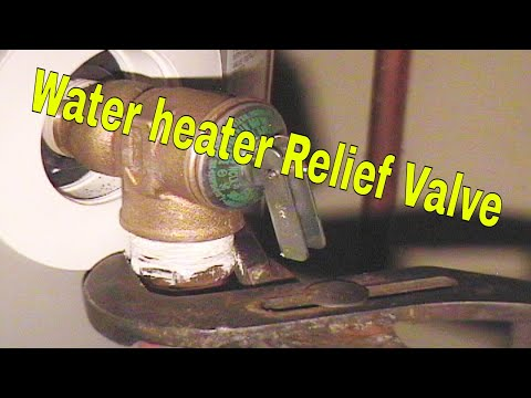 Without a properly functioning relief valve, a hot water tank can explode. If you suspect your hot water tank relief valve has been damaged, replace it immediately.