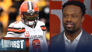 Browns are a front running team that folds up under adversity— Bart Scott | NFL | FIRST THINGS FIRST