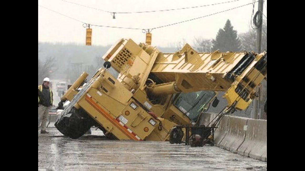 crane accidents crane accident crane crashes youtube
