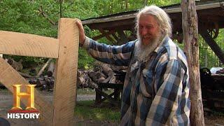 Mountain Men: Eustace and Joseph Handcraft a Rustic Bed (Season 7, Episode 15)   History
