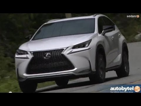 2015 Lexus NX 200t F-Sport Luxury Crossover Test Video Review