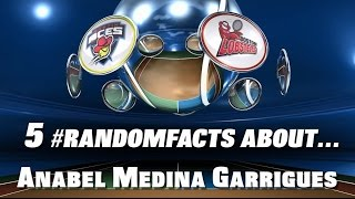 5 #RandomFacts: Anabel Medina Garrigues