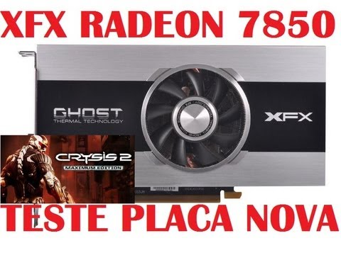 TESTE - XFX Radeon HD 7850 - CRYSIS 2 (Gráficos extremos)
