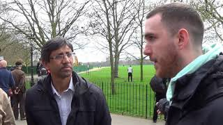 Video: With 20,000 edible Plants, Vegans would ban Halal meat, milk and eggs - Shabir Yusuf vs George