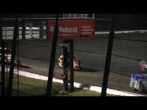 Deer Creek Speedway USMTS Fall Jamboree 9 21 13 A Main Jason Hughes