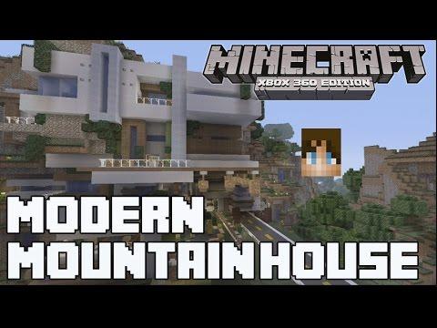 Minecraft Xbox 360 - Amazing Modern Mansion! w/ Download Link