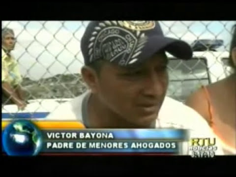 Guayaquil: Dos niños fallecieron ahogados en el canal de la muerte