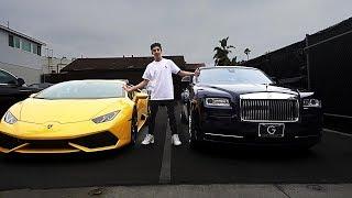 CHOOSING MY NEW CAR!! (Lamborghini or Rolls Royce) | FaZe Rug