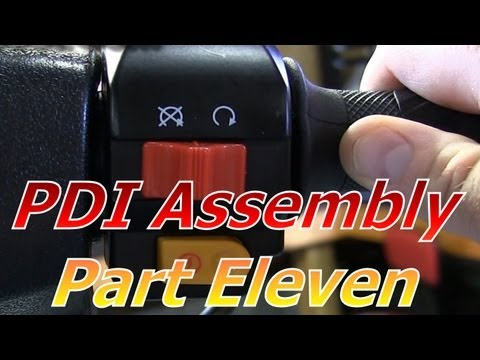 TaoTao ATM50-A1 Chinese Scooter PDI Assembly Part 11 : First Start And Mixture Adjustment